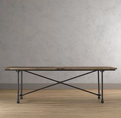 I think sometime in the next twelve months I'm making the plunge and buying a farm table as my long term dining room table.  So start the pins of farm tables!  I just saw this one tonight at the store.  They say it's been on the floor for  a year.  Maybe it will become a floor sample at the season change?!