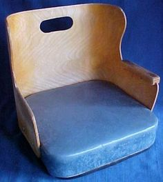 Antique Child Barber Chair Booster Seat Vintage Barber