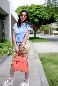 Tendencia Floral + Denim marca Moixx verano 2015