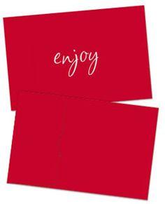 Business Gift Cards & Envelopes