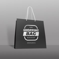 Download Shopping Bag Mock Up Shopping Bag Bag Mockup Bags