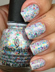 Colores de Carol: China Glaze - It's A Trap-eze