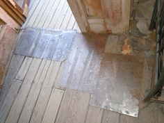 old wood floor patch - Google Search