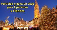 ¡Participa y gana un viaje para 2 personas a Flandes!