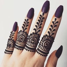 50 Most beautiful Ring Mehndi Design (Ring Henna Design) that you can apply on your Beautiful Hands and Body in daily life. Ring Mehndi Design, Cool Henna Designs, Full Hand Mehndi Designs, Finger Henna Designs, Mehndi Designs For Girls, Mehndi Designs For Beginners, Modern Mehndi Designs, Mehndi Designs For Fingers, Mehndi Design Photos