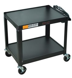 Metal 2 Shelf Utility Cart