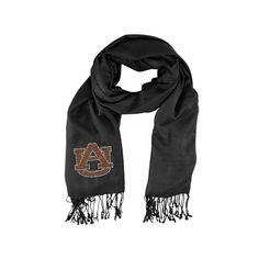 Auburn Tigers NCAA Black Pashi Fan Scarf