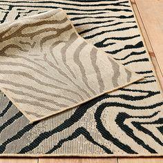 Mali Zebra Indoor/Outdoor Rug