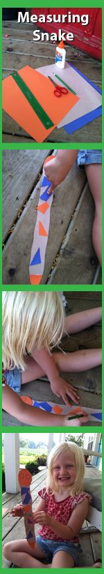 Here is a cool project. Create a snake ruler and make learning about measuring fun!