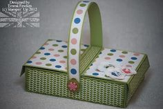 Picnic basket -there's a link to the PDF File on her blog post
