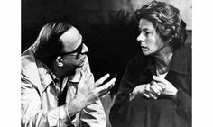 The Bergmans: Ingmar and Ingrid. On the set of Autumn Sonata, 1978. (unrelated, common surname)