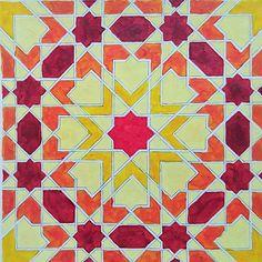 #islamicdesign #eightfold #tile #pattern