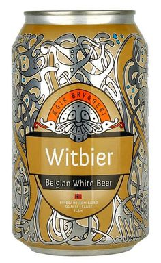 Aegir Witbier Belgian White Beer, San Pellegrino, Craft Beer, Canning, Food, Home Canning, Meals, Home Brewing, Conservation