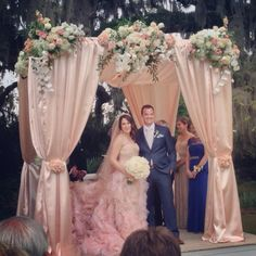 Traditional Jewish Ceremony & Chuppah; April 2013; Airlie Gardens; Wilmington Weddings; Design Perfection Weddings