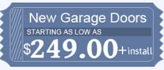 Get Discount Coupon worth $249 only on Orlando Garage Door Experts. Offer Valid till Jan 31st 2017 only. #garagedoorrepair (New Garage Door) at $249 + installation in Orlando. Call us now on (844) 334-6692 or click on link below. Apply #CouponCode: ORL 4920 to avail this offer. http://www.orlandogaragedoorexperts.com/