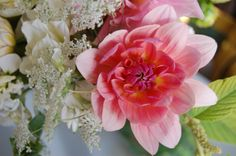 Dahlia and Queen Anne's lace