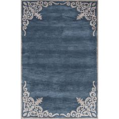 Jaipur Living Contemporary Pattern /Ivory Area Rug