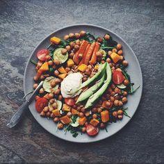 Chickpea Salad | www.livingthehealthychoice.com