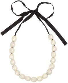 Marni Necklace in Beige