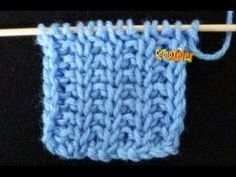How to Crochet - Invisible Decrease Knitting Basics, Knitting Stiches, Knitting Videos, Baby Knitting, Knitting Patterns, Crochet Patterns, Tunisian Crochet, Knit Crochet, Different Stitches