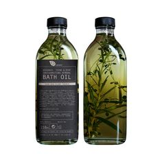 Ambre Rosemary, Thyme and Mint Herbal Bath Oil 150ml | The Future Kept