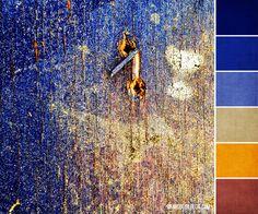 Color Palette #164 :: Cobalt Texture | Brandi Girl Blog