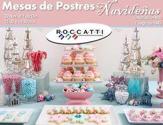 Mesa de postres navideños / Roccatti / Mty / 29 Nov a 1 Dic 2012