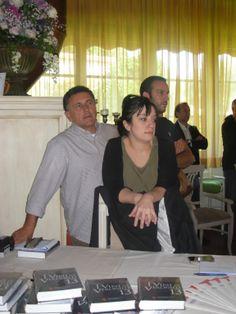 Staff Seminario Veronelli: Roberto, Elisa e Gabriele