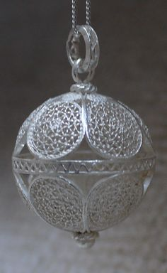 Croatian / Dubrovnik filigree pendant