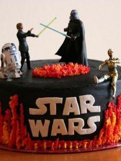 starwars bad ass cake @Phil Grijalva