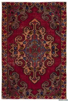 Vintage Pile Rugs | Kilim Rugs, Overdyed Vintage Rugs, Hand-made Turkish Rugs, Patchwork Carpets by Kilim.com