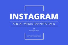 Download Instagram Social Media Banners Pack Graphics by WebDonut. Subscribe to Envato Elements for unlimited Graphics downloads for a single monthly fee. Subscribe and Download now!