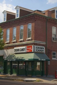 Famous Crown Candy in St. Louis...Landmark