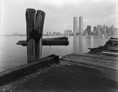 Hudson River Pier, Jersey City   See more Black and White Photography at https://www.1stdibs.com/art/photography/black-white-photography on 1stdibs