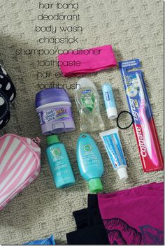 Excellent 'What to Pack for the Hospital' List. Bag for the baby and a bag for the mommy. Great list!!