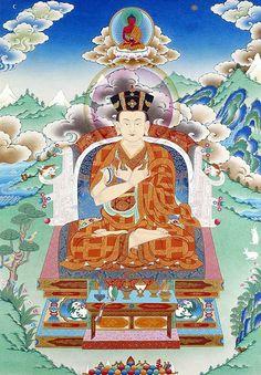 16th Karmapa Thangka