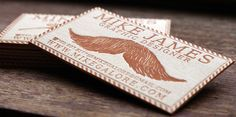 35 Awesome Letterpress Business Cards