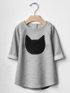 Black cat dress Product Image
