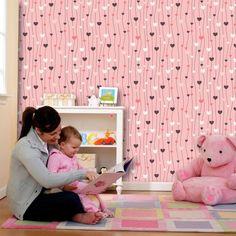 Tudo sobre papel de parede infantil - Um guia super completo e mais dicas e inspirações. Recomendo a leitura