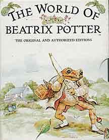 Love Beatrix Potter books & drawings.