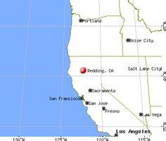 Redding, CA where Bethel Church is :)