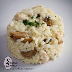 Aujourd'hui, je vous propose une recette de risotto au poulet et aux champignons. C'est un de mes plats préférés. Le riz est fondant et crémeux et le goût exquis. La recette que je vous propose con...