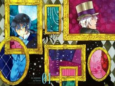 """namanari: """" """"Anon asked: So you got the first volume of Vanitas no Carte? Can we get some pictures possibly? Please ^o^ """" It is absolutely gorgeous and I'm super happy~ The first picture is the. All Anime, Me Me Me Anime, Manga Anime, Anime Stuff, Pandora Hearts, Vampires, Vanitas Vanitatum, Joker, Image Manga"""
