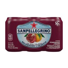 San Pellegrino Sparkling Fruit Beverages, Melograno e Arancia  (Pomegranate and Orange), 11.15 oz Cans (Pack of 6) => Click now. Unbelievable product right here! : Fresh Groceries