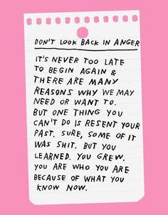 How To Begin Again