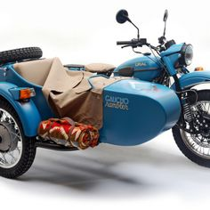 """Pendleton x Ural. Limited Edition """"Guacho Rambler"""" Motorcycle. Now if only it also came in a matte black, grey, or silver ..."""