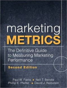 Marketing Metrics (Marketing Metrics is rated on BN at 3.7 Stars with 3 Reviews but has 4.3 Stars/18 Reviews on Amazon)