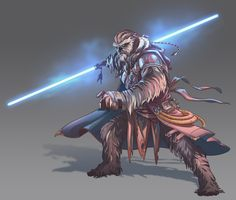 ArtStation - Wookiee commission, Nico Fari