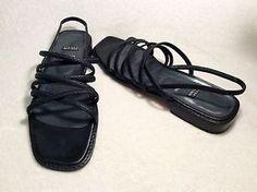 Black Stuart Weitzman Sandals Size 8AAAA | eBay