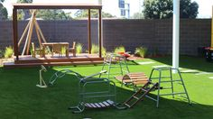 Artificial Grass Queensland providing high quality Synthetic Grass products and Artificial Lawn installations for schools, childcare and domestic lawns. Outdoor Chairs, Outdoor Furniture Sets, Outdoor Decor, Synthetic Lawn, Fake Turf, Artificial Turf, Playground, Grass, Landscape